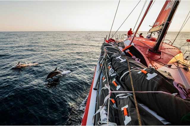 Volvo Ocean Race. El diario vivir en un velero cruzando los océanos