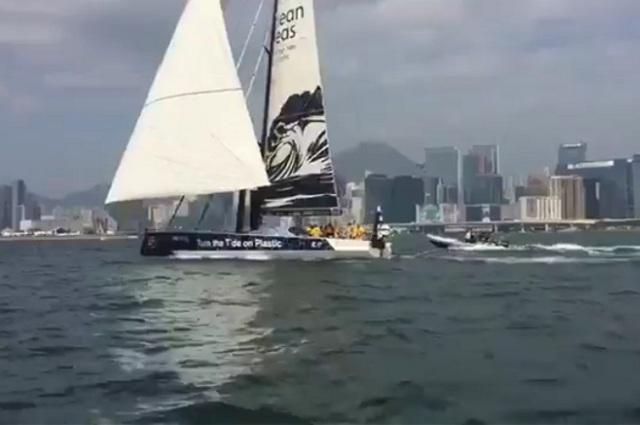 HONG KONG, puerto de arribo de la cuarta etapa de Regata de Veleros