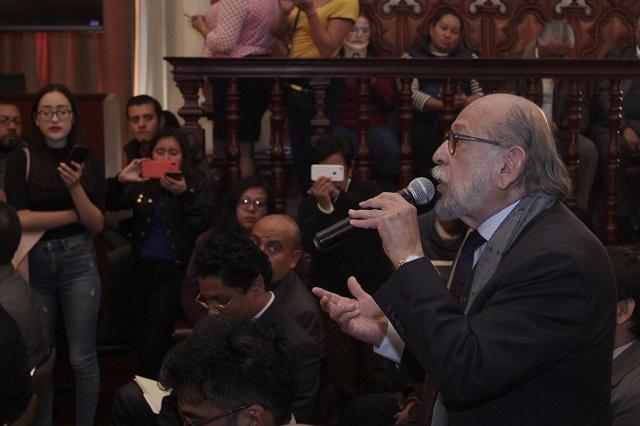 Hay una campaña perversa contra la BUAP: Vélez Pliego