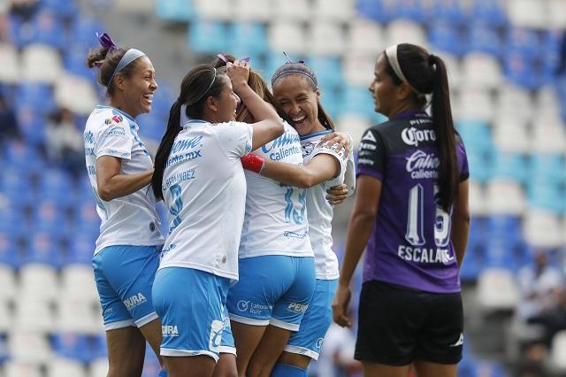 Puebla Femenil vuelve a imponerse en el Cuauhtémoc