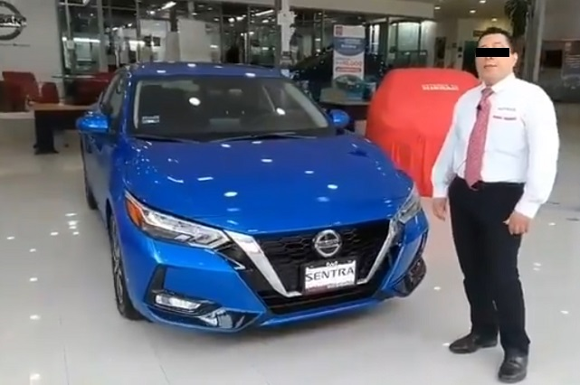 Video: Vendedor de Nissan invita a atropellar peatones y error es viral