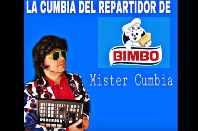 Cumbia del vendedor de Bimbo, entre lo viral y la indignación