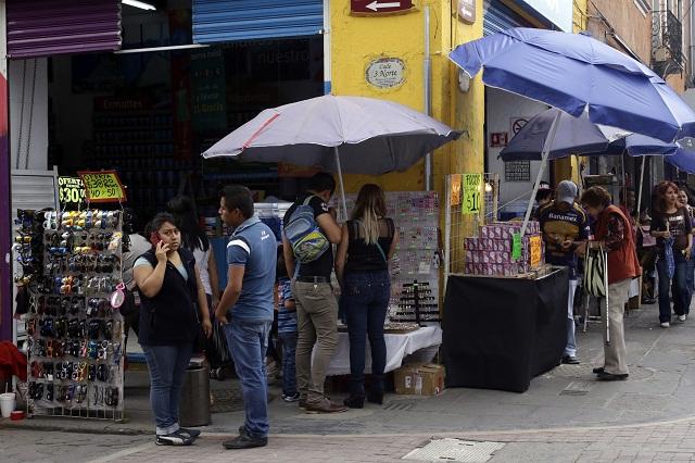 Puebla con semáforo rojo por aumento de la informalidad