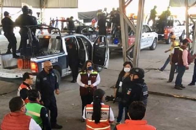 Vendedores de La Purísima en Tehuacán enfrentan crisis por Covid-19