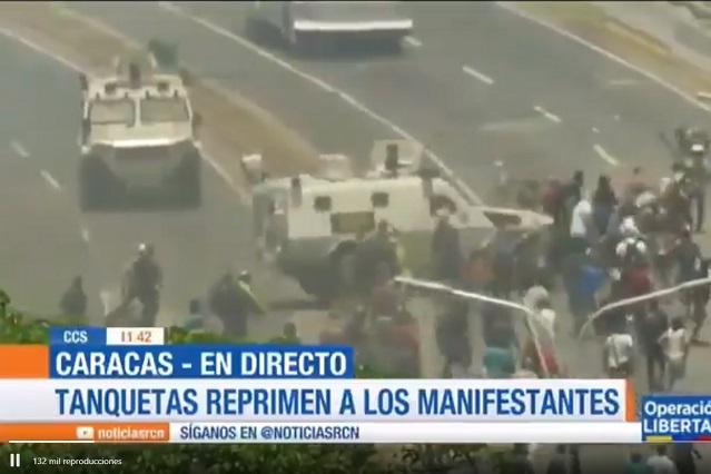 Videos: Así se vive la lucha contra Maduro en Venezuela