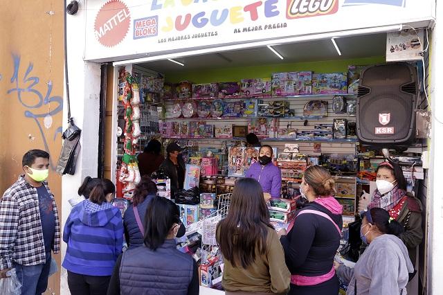 Permiten en Puebla venta de juguetes 4, 5 y 6 de enero