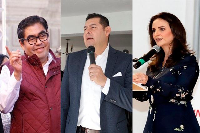 Amplia ventaja de Barbosa sobre Armenta y de la Sierra: Más Data