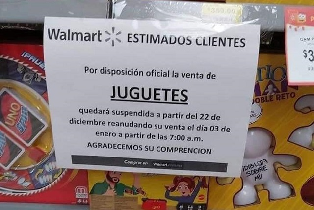 Puebla no restringirá venta de juguetes, señala Barbosa