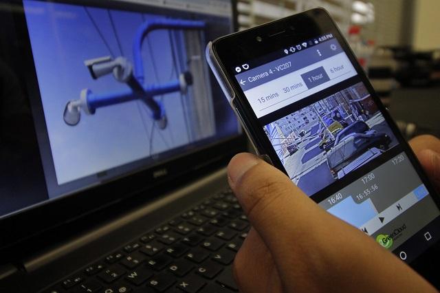 Compiten 18 empresas para operar video cámaras en Puebla