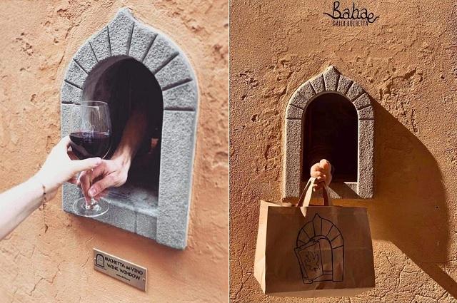 Italia reabre 'ventanas del vino', práctica empleada en tiempos de la peste