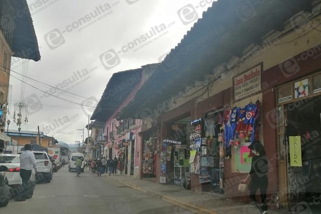 Bajan 40 por ciento ventas de día de reyes en Zacapoaxtla