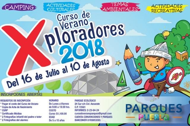 Todo listo para el curso de verano Exploradores 2018