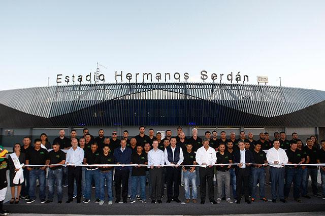 Remodelan el estadio Hermanos Serdán con 97 millones de pesos