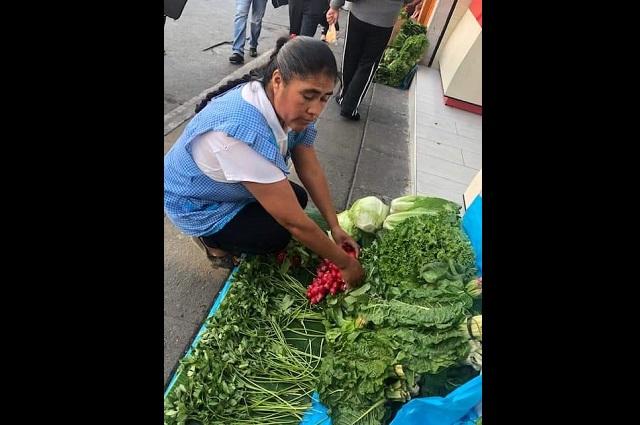 Doña Mary cuenta cómo vive la crisis económica en Teziutlán