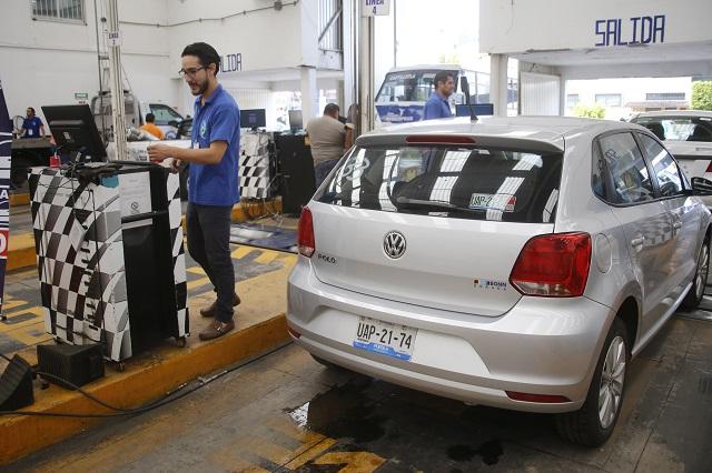 Abrirán 38 nuevos centros de verificación vehicular en Puebla