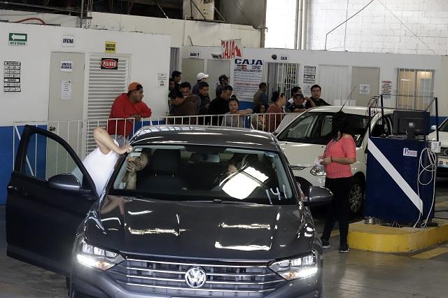 Sólo verificó 27% del padrón vehicular en Puebla: Manrique