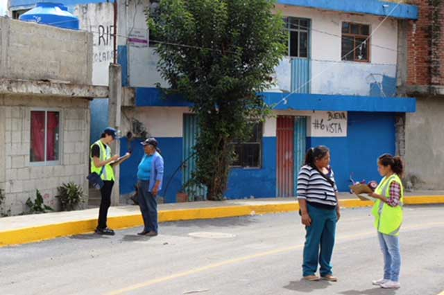 Contralores ciudadanos verifican 30 obras en juntas auxiliares y colonias