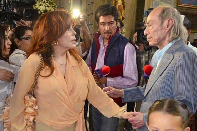 Verónica Castro da detalles del cáncer que padece su ex El Loco Valdés
