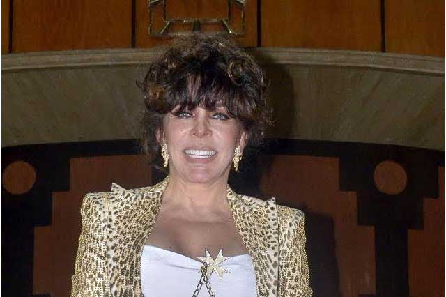 Verónica Castro habla de problemas económicos de su ex El Loco Valdés