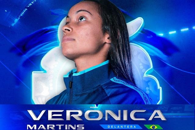 Verónica Martins, la primera extranjera en jugar con Puebla Femenil