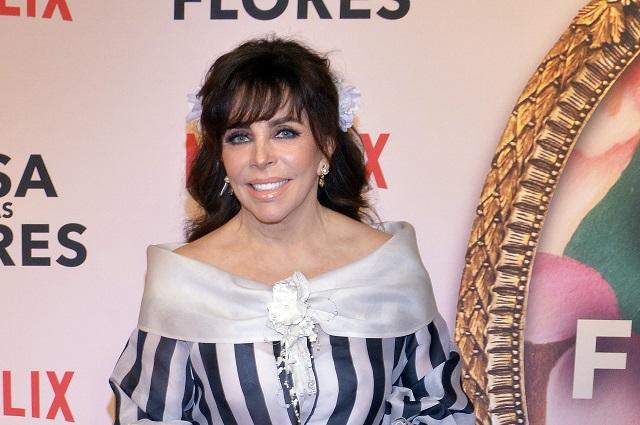Verónica Castro revela por qué no seguirá en La casa de las Flores