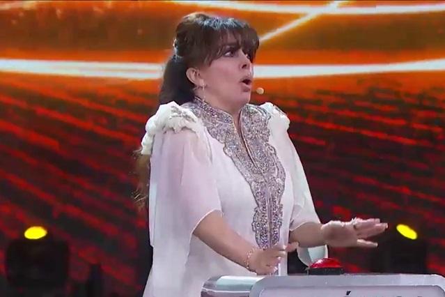 Verónica Castro dice grosería en final de Pequeños Gigantes