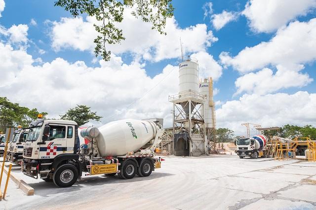 Vertua supera los 100 metros cúbicos suministrados en obras
