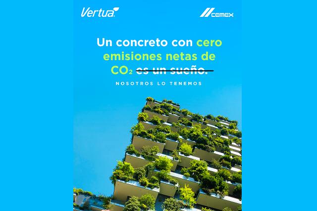 CEMEX lanza productos Vertua®, bajos en carbono y cero emisiones de CO2