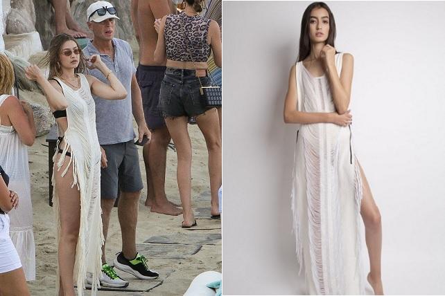 Gigi Hadid usa diseño mexicano durante sus vacaciones