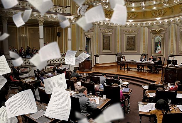 Vetan 8 de 11 reformas al nuevo Congreso de Puebla en 3 meses