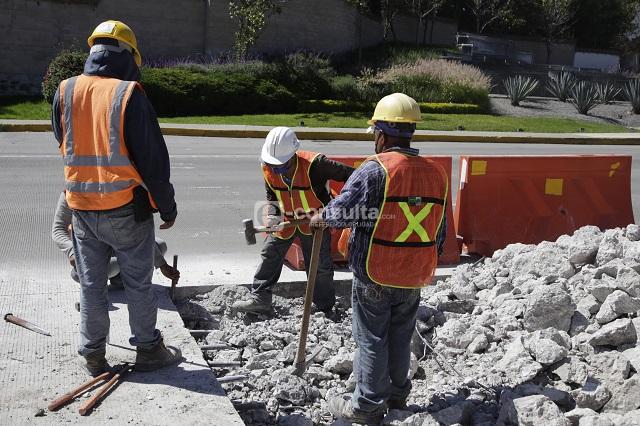 Cayó en agosto valor de la construcción en Puebla: INEGI