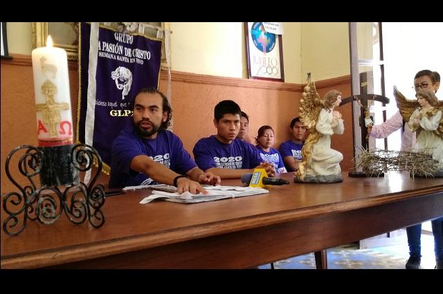 Siguen planes para vía crucis en Tehuacán pese a Covid-19