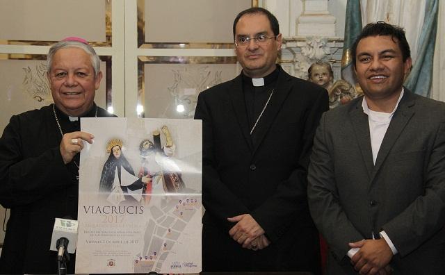 Tras dos siglos de no realizarse, reviven Vía Crucis Angelopolitano