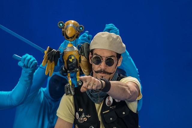 Óscar Jaenada es parte de Viaje al centro de la Tierra, de Disney