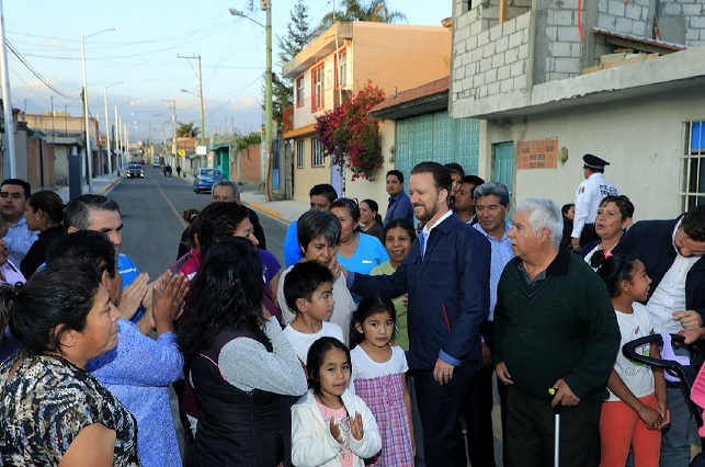 Banck supervisa vialidades y cámaras en Guadalupe Xonacatepec