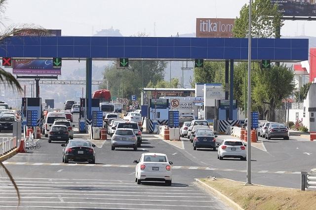 Recauda Pinfra 1,400 mdp por peaje de la autopista a Atlixco