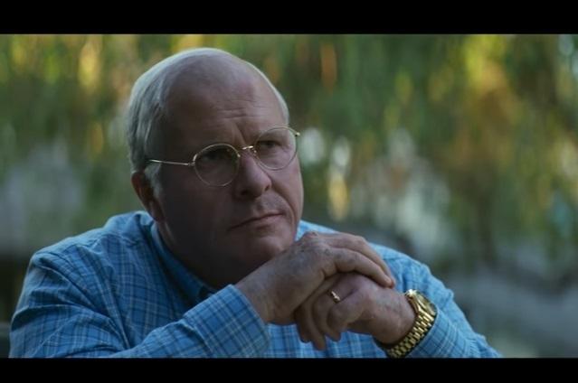 Nueva foto de Christian Bale de cinta El Vicepresidente: Más Allá del Poder