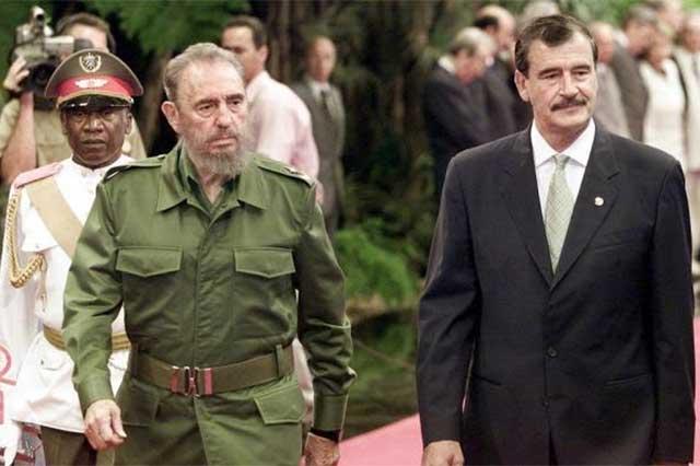 Vicente Fox: Fidel cenó y se fue, y que Dios lo tenga en su santa gloria