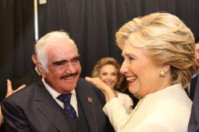 Hillary Clinton ocupará la presidencia de los EU: Vicente Fernández