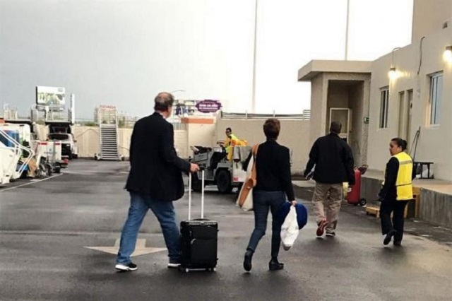 Captan a Fox en el momento en que elude la aduana en Guanajuato