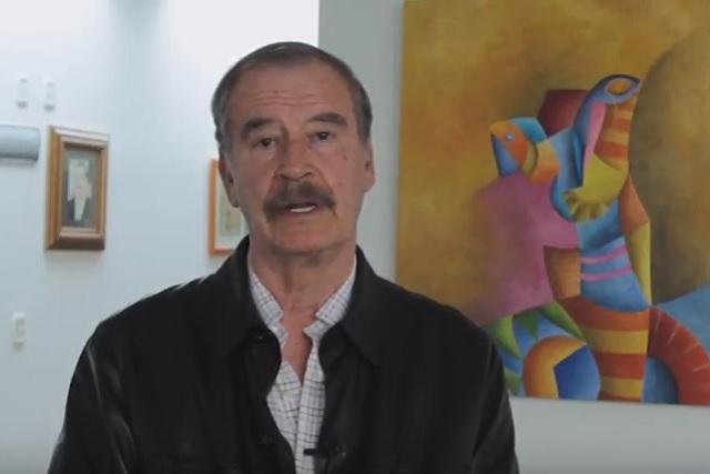 Vicente Fox le desea a AMLO que le vaya bien como presidente