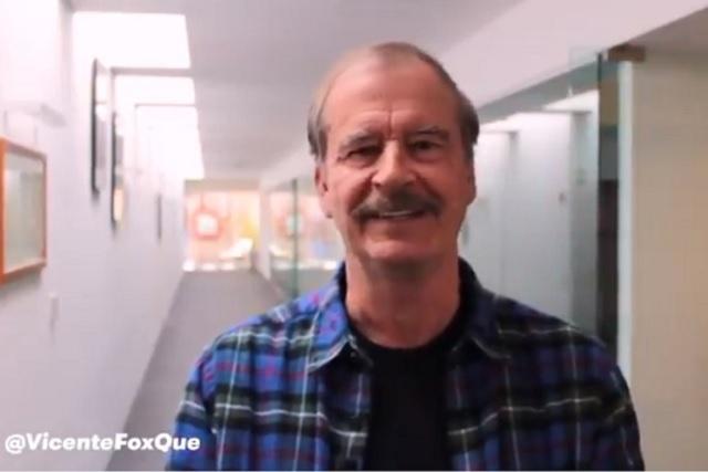 Me quiere llevar AMLO al cadalso, pero ya las pagará, dice Fox
