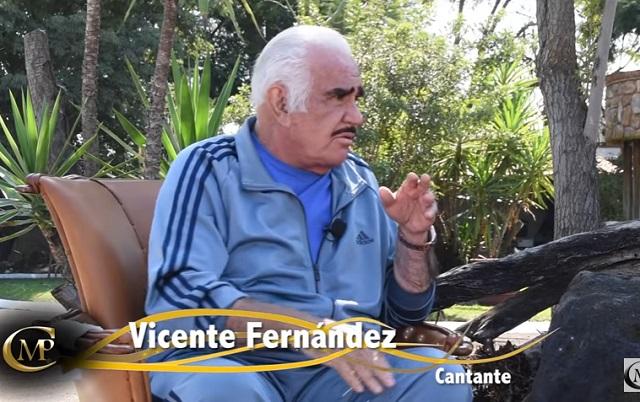 ¿Por qué Vicente Fernández no va a misa y no se confiesa con un cura?