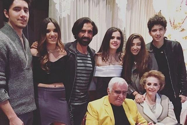 Vicente Fernández cantará junto al Potrillo y sus nietos