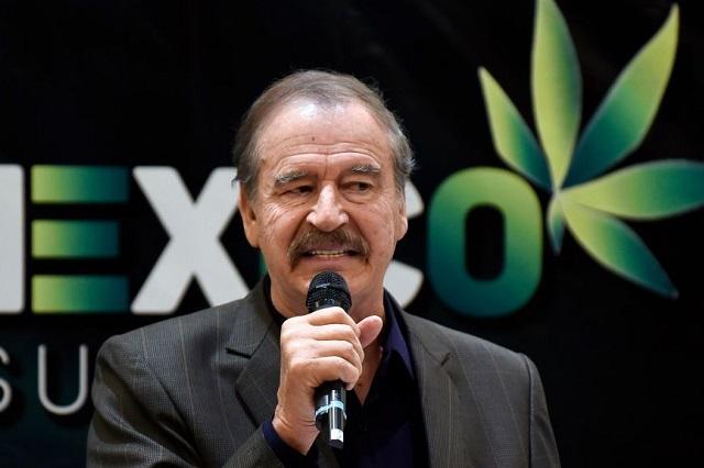 Vicente Fox es contratado por empresa canadiense de cannabis