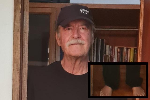 Foto de Vicente Fox inquieta en redes y especulan tiene 6 dedos