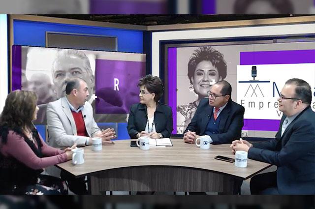 Empresarios celebran primer diálogo con Claudia Rivera