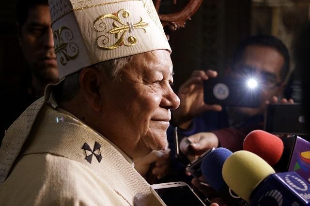 Respalda arzobispo de Puebla combate federal al huachicol