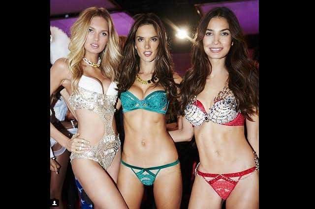 Ángeles de Victoria's Secret aterrizan en lencería en Nueva York