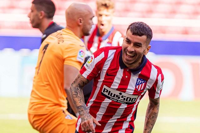 Goleada del Atlético de Madrid le devuelve el liderato de LaLiga